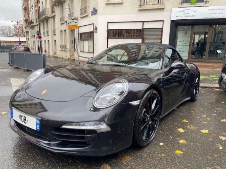 Porsche 991 PORSCHE 991 CARRERA 4S PDK CABRIOLET ACC/PSE / EXCLUSIF Noir - 1