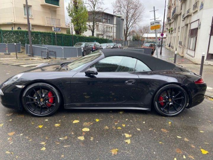 Porsche 991 PORSCHE 991 CARRERA 4S PDK CABRIOLET ACC/PSE / EXCLUSIF Noir - 2