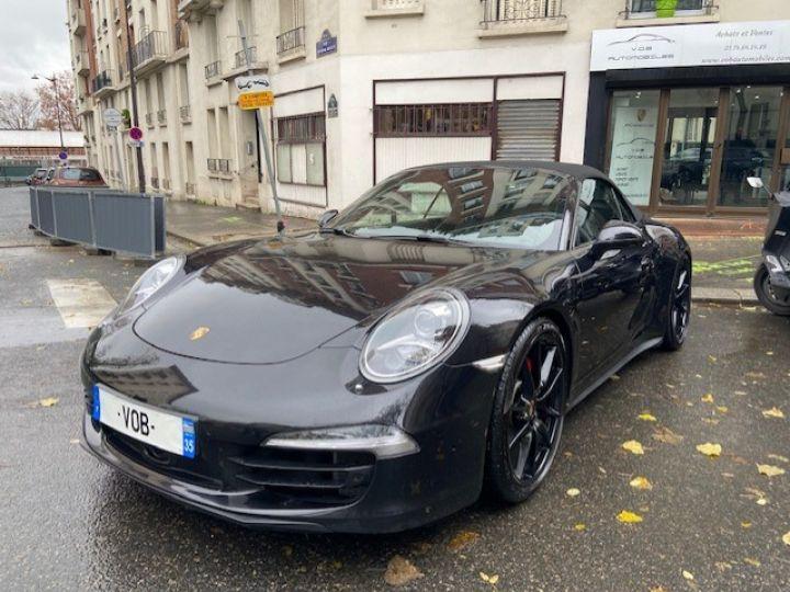 Porsche 991 PORSCHE 991 CARRERA 4S PDK CABRIOLET ACC/PSE / EXCLUSIF Noir - 8