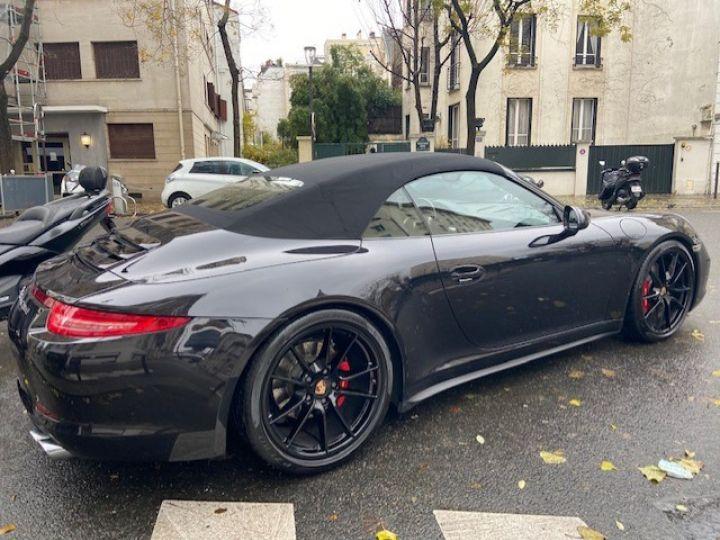 Porsche 991 PORSCHE 991 CARRERA 4S PDK CABRIOLET ACC/PSE / EXCLUSIF Noir - 11
