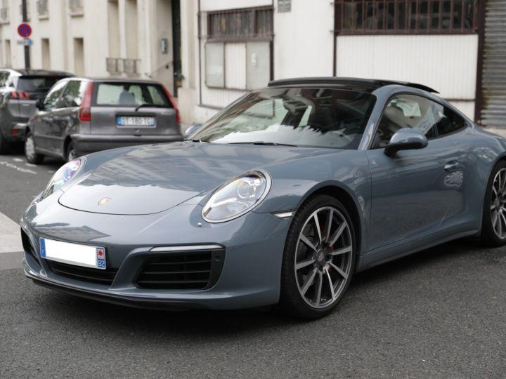 Porsche 991 PORSCHE 991 CARRERA 4S PORSCHE APPROVED 06/2022 Bleu Graphite - 1