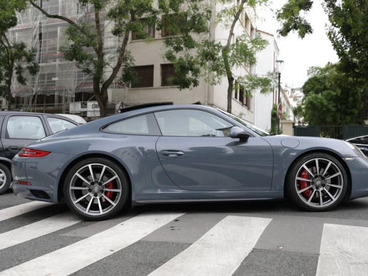 Porsche 991 PORSCHE 991 CARRERA 4S PORSCHE APPROVED 06/2022 Bleu Graphite - 5