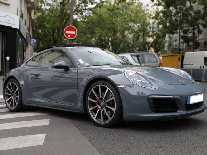 Porsche 991 PORSCHE 991 CARRERA 4S PORSCHE APPROVED 06/2022 Bleu Graphite - 6