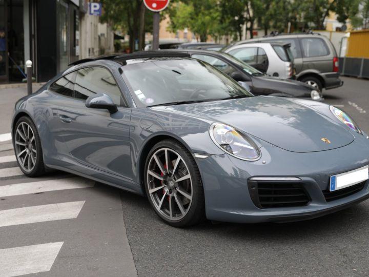 Porsche 991 PORSCHE 991 CARRERA 4S PORSCHE APPROVED 06/2022 Bleu Graphite - 7