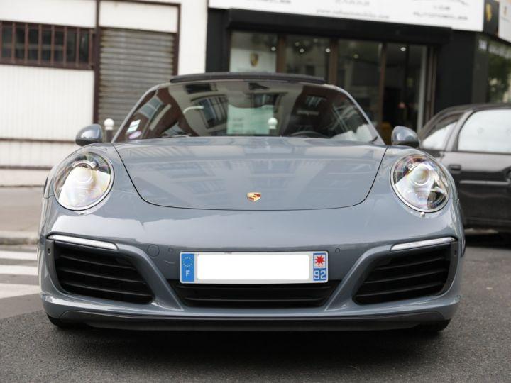 Porsche 991 PORSCHE 991 CARRERA 4S PORSCHE APPROVED 06/2022 Bleu Graphite - 8