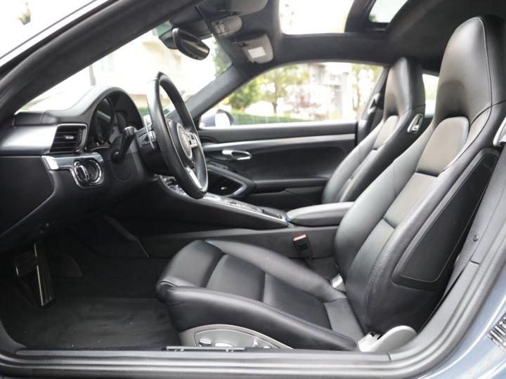 Porsche 991 PORSCHE 991 CARRERA 4S PORSCHE APPROVED 06/2022 Bleu Graphite - 26