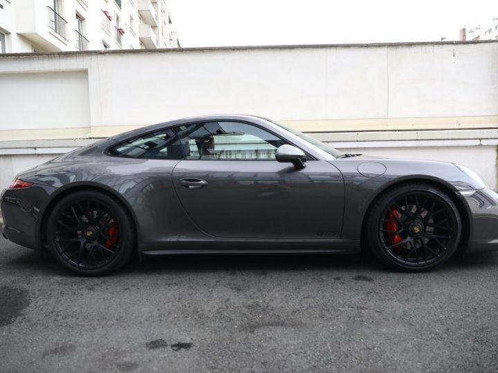 Porsche 991 PORSCHE 991 CARRERA GTS 3.8 430CV /FRANCE / PANO / 37500 KMS Gris Quartz - 4