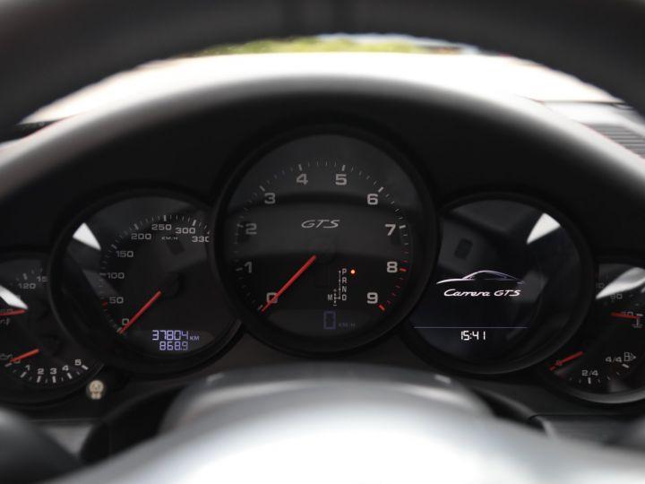 Porsche 991 PORSCHE 991 CARRERA GTS 3.8 430CV /FRANCE / PANO / 37500 KMS Gris Quartz - 43