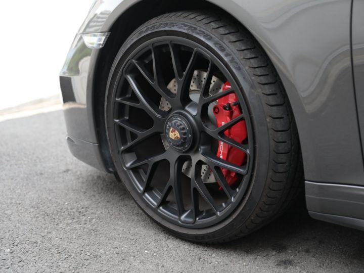Porsche 991 PORSCHE 991 CARRERA GTS 3.8 430CV /FRANCE / PANO / 37500 KMS Gris Quartz - 17