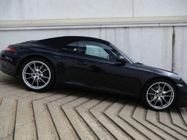 Porsche 991 PORSCHE 991 CARRERA PDK CABRIOLET 3.4 350CV/CHRONO /PSE / SPORT DESIGN / FRANCE Noir - 5