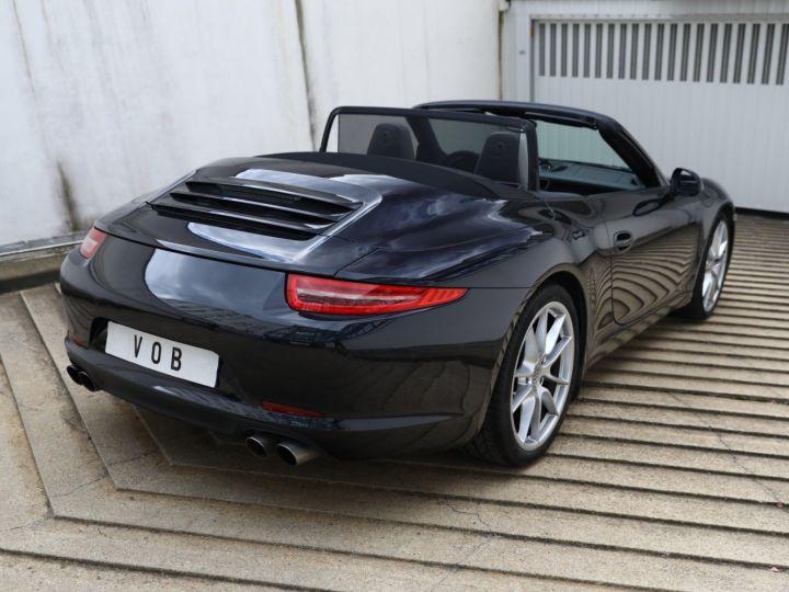 Porsche 991 PORSCHE 991 CARRERA PDK CABRIOLET 3.4 350CV/CHRONO /PSE / SPORT DESIGN / FRANCE Noir - 2