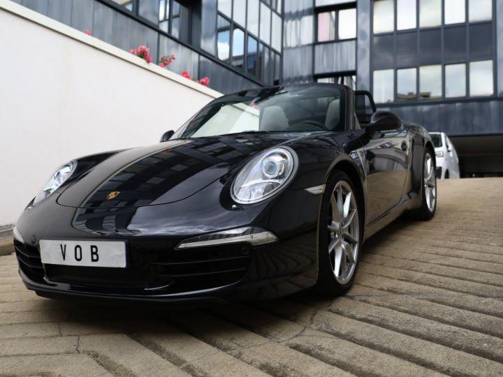 Porsche 991 PORSCHE 991 CARRERA PDK CABRIOLET 3.4 350CV/CHRONO /PSE / SPORT DESIGN / FRANCE Noir - 1