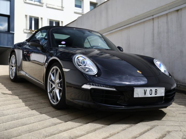 Porsche 991 PORSCHE 991 CARRERA PDK CABRIOLET 3.4 350CV/CHRONO /PSE / SPORT DESIGN / FRANCE Noir - 13