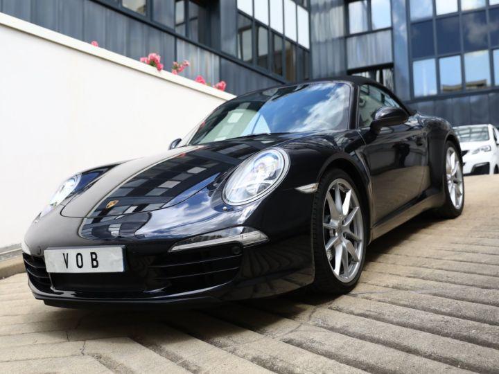 Porsche 991 PORSCHE 991 CARRERA PDK CABRIOLET 3.4 350CV/CHRONO /PSE / SPORT DESIGN / FRANCE Noir - 10
