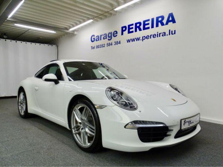Porsche 991 Porsche 991 CARRERA PDK SPORT/GARANTIE 12 MOIS Blanc - 1