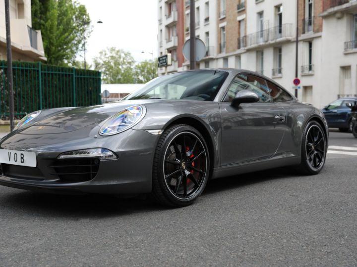 Porsche 991 PORSCHE 991 CARRERA S PDK 3.8 400CV PSE/ CHRONO / SUPERBE Gris Quartz - 1