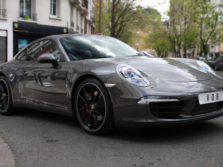 Porsche 991 PORSCHE 991 CARRERA S PDK 3.8 400CV PSE/ CHRONO / SUPERBE Gris Quartz - 4