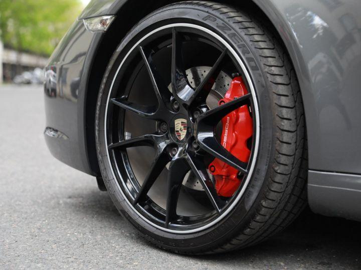 Porsche 991 PORSCHE 991 CARRERA S PDK 3.8 400CV PSE/ CHRONO / SUPERBE Gris Quartz - 14