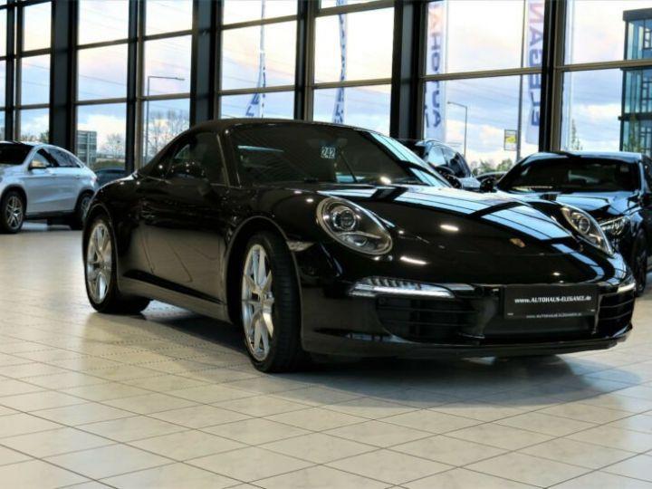 Porsche 991 Porsche 991 Décapotable PDK * BOSE * NAVI-PCM * CUIR * PDLS * 20/GARANTIE 12 MOIS   Noir - 1