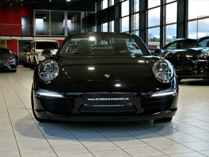 Porsche 991 Porsche 991 Décapotable PDK * BOSE * NAVI-PCM * CUIR * PDLS * 20/GARANTIE 12 MOIS   Noir - 7