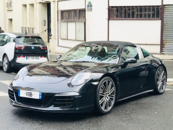 Porsche 991 PORSCHE 991 TARGA 4S PDK 400CV Noir - 1