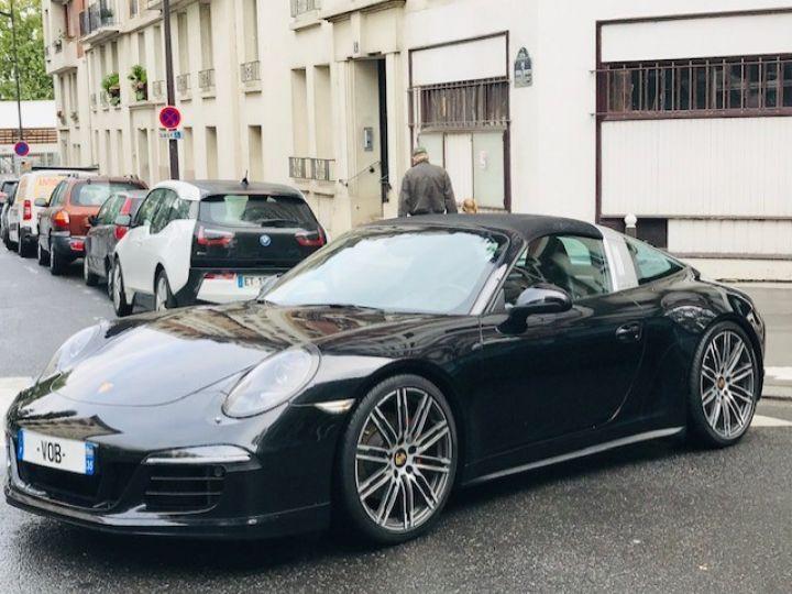 Porsche 991 PORSCHE 991 TARGA 4S PDK 400CV Noir - 4