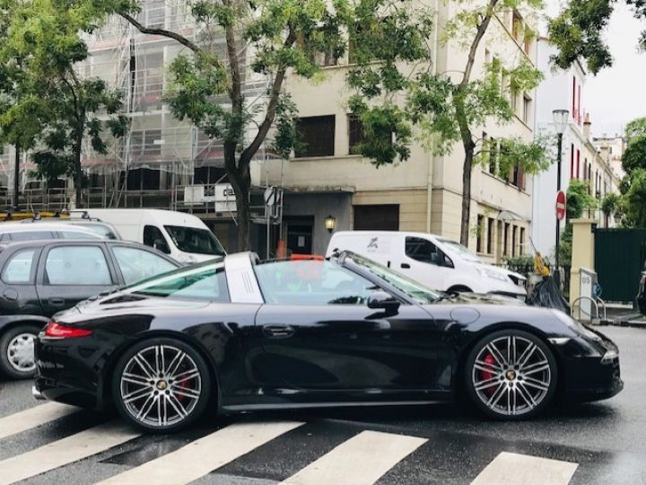 Porsche 991 PORSCHE 991 TARGA 4S PDK 400CV Noir - 10
