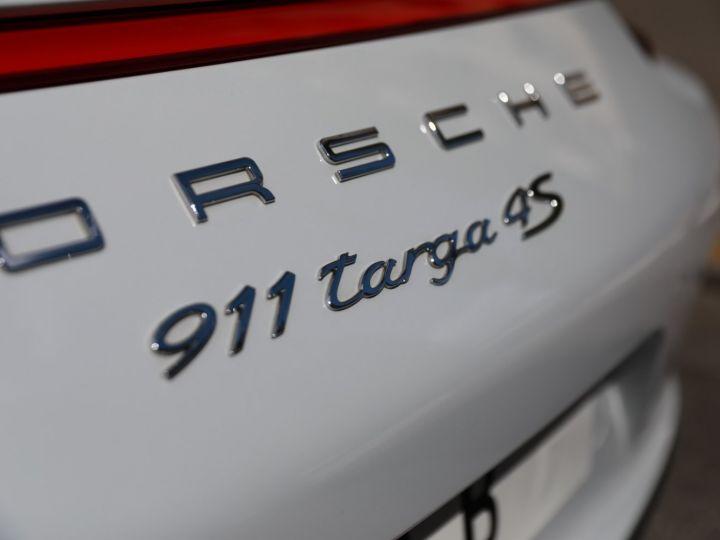 Porsche 991 PORSCHE 991 TARGA 4S PDK MK2 3.0 420CV/ 20000 KMS /SUPERBE Blanc - 9