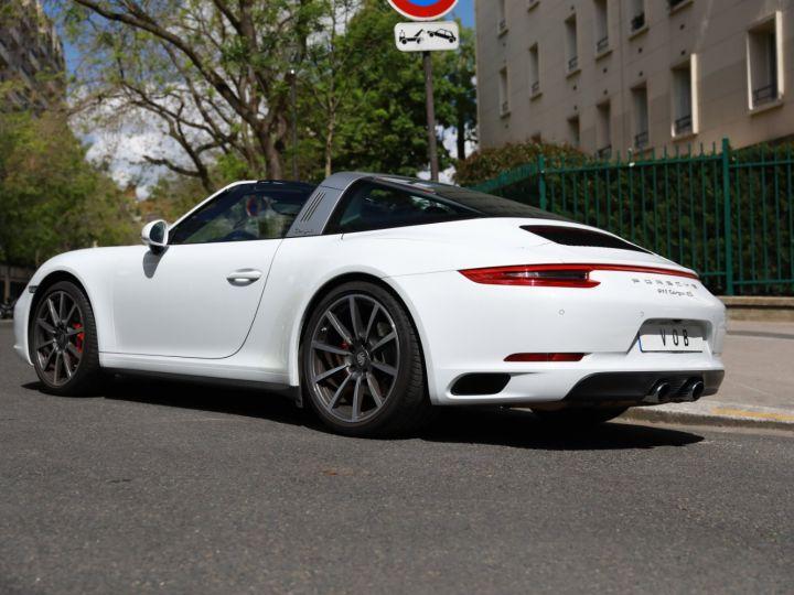 Porsche 991 PORSCHE 991 TARGA 4S PDK MK2 3.0 420CV/ 20000 KMS /SUPERBE Blanc - 4