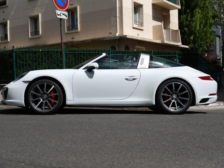 Porsche 991 PORSCHE 991 TARGA 4S PDK MK2 3.0 420CV/ 20000 KMS /SUPERBE Blanc - 2