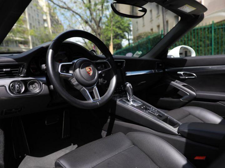 Porsche 991 PORSCHE 991 TARGA 4S PDK MK2 3.0 420CV/ 20000 KMS /SUPERBE Blanc - 18