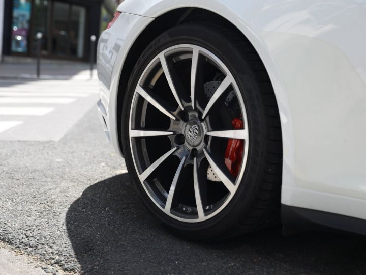 Porsche 991 PORSCHE 991 TARGA 4S PDK MK2 3.0 420CV/ 20000 KMS /SUPERBE Blanc - 14