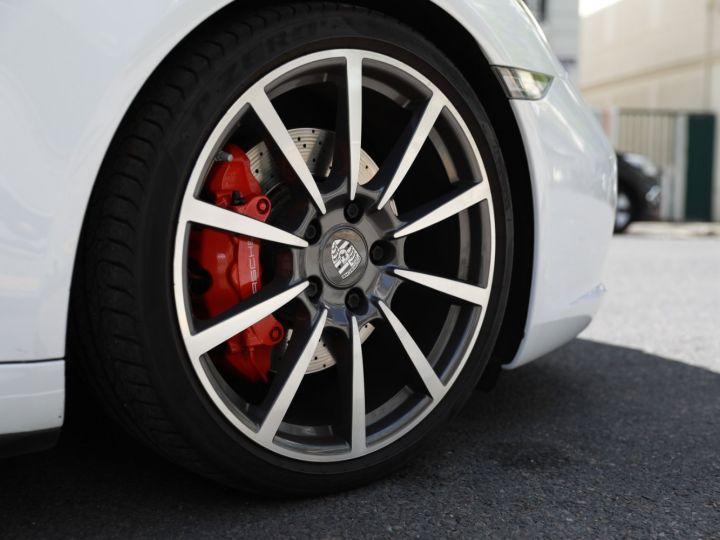 Porsche 991 PORSCHE 991 TARGA 4S PDK MK2 3.0 420CV/ 20000 KMS /SUPERBE Blanc - 15