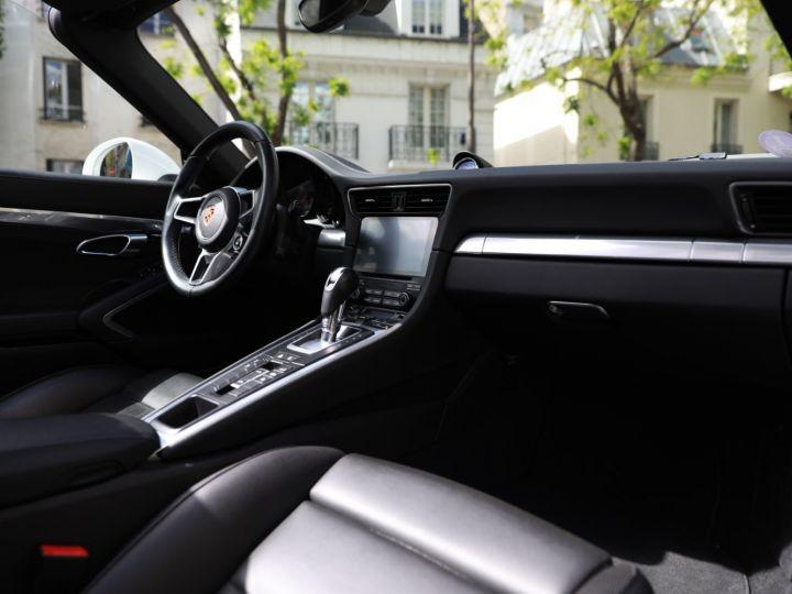 Porsche 991 PORSCHE 991 TARGA 4S PDK MK2 3.0 420CV/ 20000 KMS /SUPERBE Blanc - 24