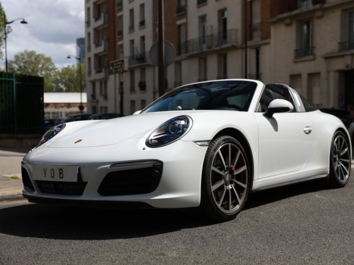 Porsche 991 PORSCHE 991 TARGA 4S PDK MK2 3.0 420CV/ 20000 KMS /SUPERBE Blanc - 1