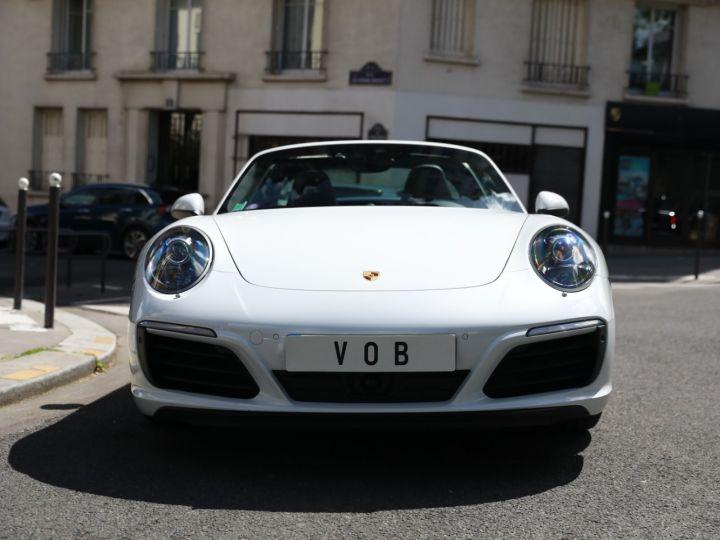 Porsche 991 PORSCHE 991 TARGA 4S PDK MK2 3.0 420CV/ 20000 KMS /SUPERBE Blanc - 3