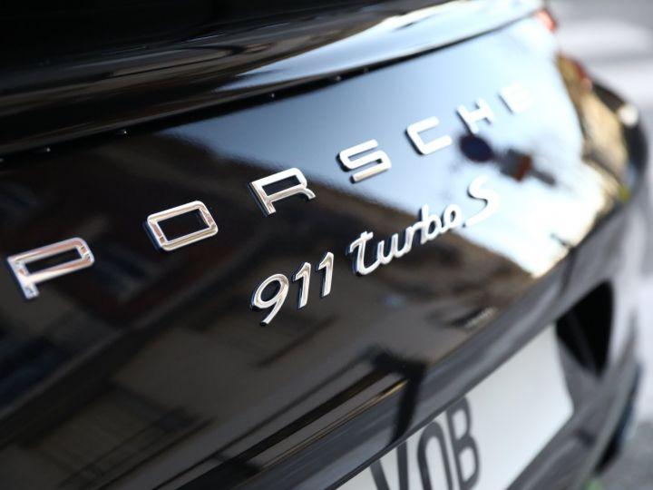Porsche 991 PORSCHE 991 TURBO S MK2 580CV FULL CARBONE EXCLUSIF Noir - 16
