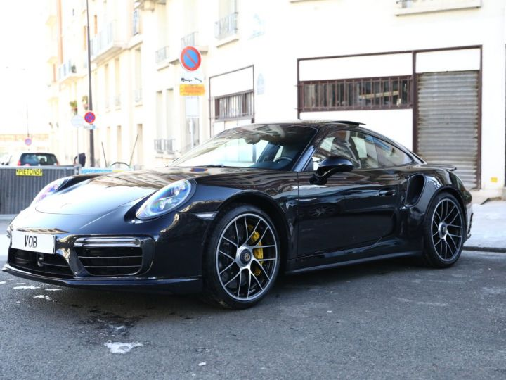 Porsche 991 PORSCHE 991 TURBO S MK2 580CV FULL CARBONE EXCLUSIF Noir - 1
