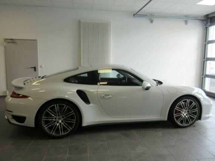 Porsche 991 turbo  blanc  - 3