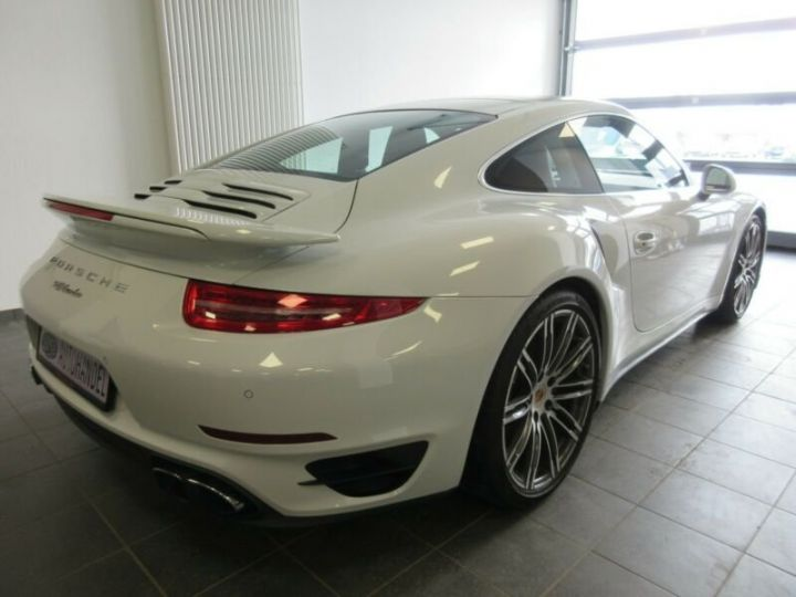 Porsche 991 turbo  blanc  - 4