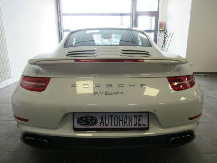 Porsche 991 turbo  blanc  - 5