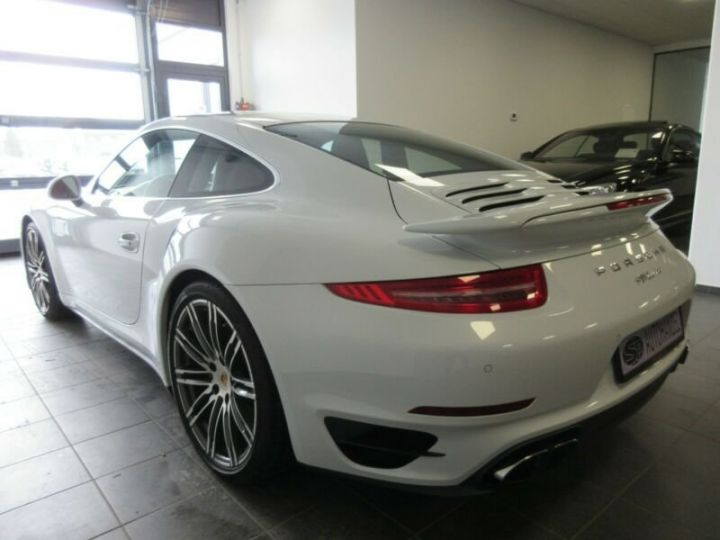 Porsche 991 turbo  blanc  - 6