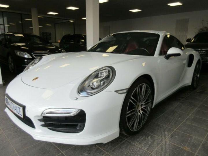 Porsche 991 turbo  blanc  - 7