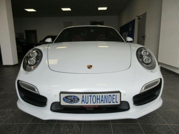 Porsche 991 turbo  blanc  - 8
