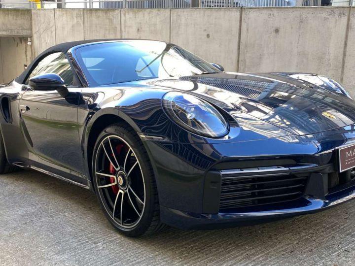 Porsche 992 911 (992) CABRIOLET 3.8 580 TURBO Bleu Occasion - 1