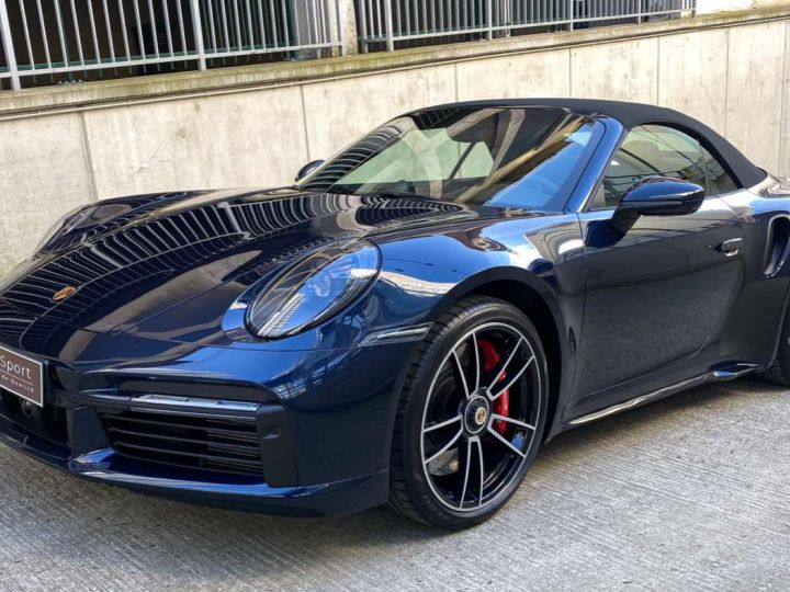 Porsche 992 911 (992) CABRIOLET 3.8 580 TURBO Bleu Occasion - 3