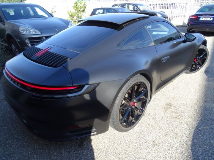 Porsche 992 911 992 S 450ps PDK8 / XLF TOE Jtes 21 Pdc + Camera ... noir mat - 7