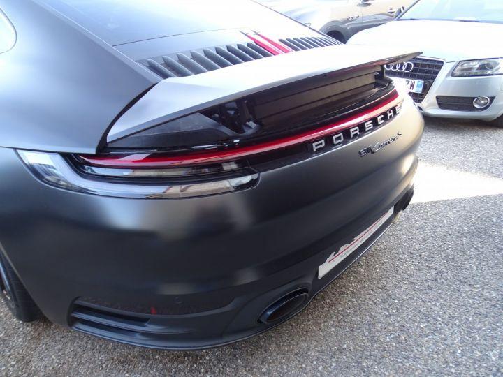 Porsche 992 911 992 S 450ps PDK8 / XLF TOE Jtes 21 Pdc + Camera ... noir mat - 9