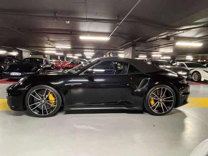 Porsche 992 CABRIOLET 3.8 650 TURBO S Noir Occasion - 4