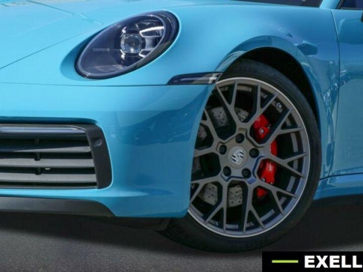 Porsche 992 Carrera 4S Cabriolet BLEU MIAMI Occasion - 1